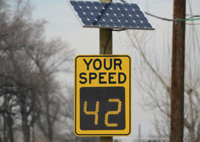 SOLAR POWERED SIGNS